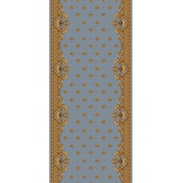 """Кремлевская дорожка """"Versalle"""" (Небесно-голубая) ширина 170см"""