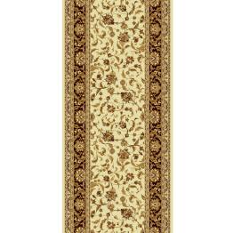 """Шерстяная дорожка """"Isfahan""""(Кремово-коричневая)"""